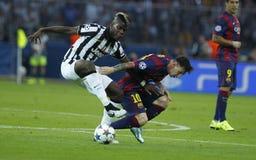 LIONEL MESSI FC BARCELONE Стоковое Изображение