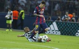 LIONEL MESSI FC BARCELONE Lizenzfreies Stockfoto