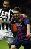 LIONEL MESSI FC BARCELONE Lizenzfreie Stockfotos