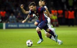 LIONEL MESSI FC BARCELONE Stockfoto