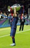LIONEL MESSI FC BARCELONE Stockbild