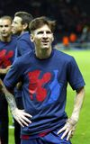 LIONEL MESSI FC BARCELONE Lizenzfreie Stockbilder