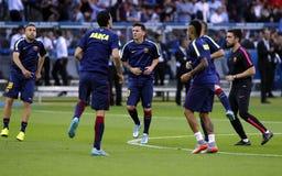 LIONEL MESSI FC BARCELONE Lizenzfreies Stockbild