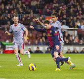 Lionel Messi of FCB Stock Photography