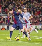 Lionel Messi FCB Stock Image