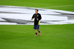 Lionel Messi, Voetbalsuperster, Fc Barcelona, Argentinië Stock Foto's
