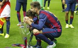 Lionel Piqué FC Barcelone Stock Afbeelding