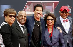 Lionel Richie royalty-vrije stock foto