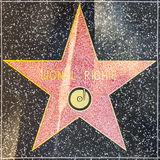 Lionel Richies star on Hollywood Walk of Fame Royalty Free Stock Photos