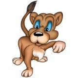 lioness stock illustrationer