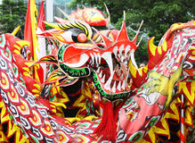 Liong or Chinese Dragon Stock Photo