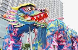 Liong oder chinesischer Drache stockbilder