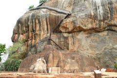 Liongate Sigiriya стоковое изображение