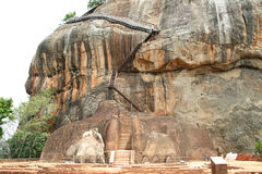 Liongate Sigiriya Stock Image