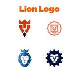 LionLogo szablon Zdjęcie Royalty Free