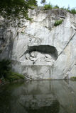 lionminnesmärke Royaltyfri Foto