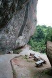Lionrock rest stop. Guangzhou danxia mountain world geological park Stock Photography