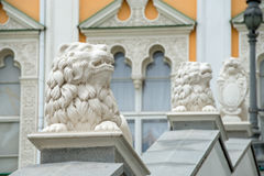 Lions - architectural decoration Stock Image