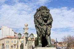 Lions Bridge in Sofia Royalty Free Stock Image