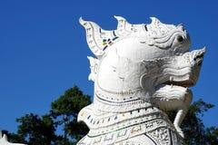 Lions chinois de gardien ou lions impériaux de gardien Photo libre de droits