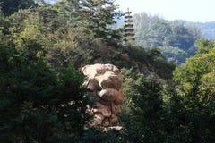 Lions de Laoshan photo stock