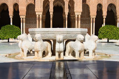 Lions Fountain Royalty Free Stock Images