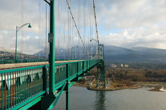 Lions gate bridge, vancouver, bc Royalty Free Stock Photography