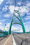 Lions Gate Bridge in Vancouver, BC, Canada Stock Photo