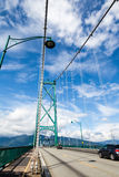 Lions Gate Bridge in Vancouver, BC, Canada Stock Photography