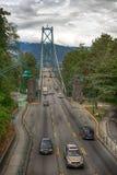 Lions Gate Bridge in Vancouver, BC Stock Photos