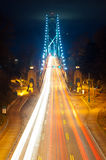 Lions Gate Bridge - Vancouver, Canada Stock Photography