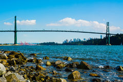 Lions Gate Bridge Royalty Free Stock Image