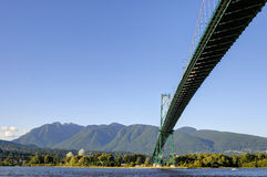 Lions Gate Bridge Royalty Free Stock Images