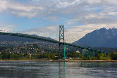 Lions Gate Bridge Vancouver Stock Photos
