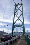 Lions Gate Bridge Vancouver Stock Photos
