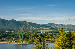 Lions Gate Bridge Royalty Free Stock Photography