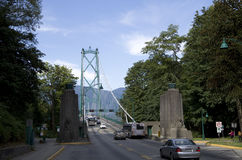 Lions Gate Bridge Vancouver Royalty Free Stock Photo