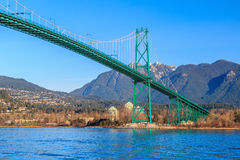 Lions Gate Bridge Royalty Free Stock Images