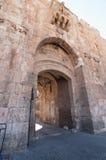 Lions Gate Jerusalem. Lion`s Gate in the Old City, Jerusalem, Israel royalty free stock image