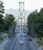 Lions Gate at Stanley Park royalty free stock images