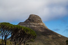 Lions Head. By the Table Mountain in Capetown, South Africa Stock Photo