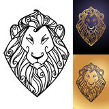 Lions head Stock Images