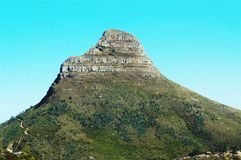 Lions head. Cape Town Stock Image