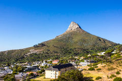 Lions head, Cape town Royalty Free Stock Photo