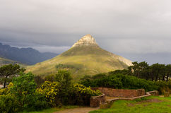 Lion's Head in Cape Town – South Africa Royalty Free Stock Image