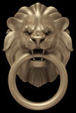Lions Head Door Handle Royalty Free Stock Photography