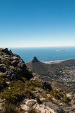 The lions head hill in Cape Town South Africa Royalty Free Stock Image