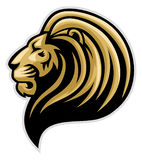Lions head mascot Royalty Free Stock Photography