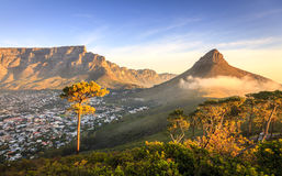 Lions Head Mountain. In Cape Town, South Africa Royalty Free Stock Image