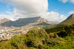 Free Lions Head Part Of Table Mountain Royalty Free Stock Images - 16691249